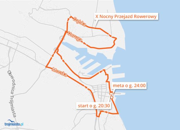 Trasa przejazdu to ok. 23 km.