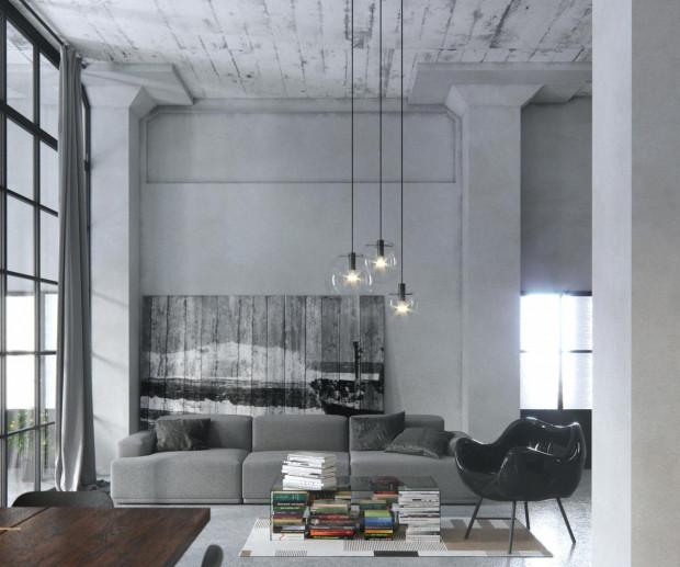 I miejsce. Inspiracją stał się układ jednej z komór Chłodni Śledziowej w Gdyni. Zaprojektowano w nim mieszkanie dla młodego, rezolutnego kucharza.