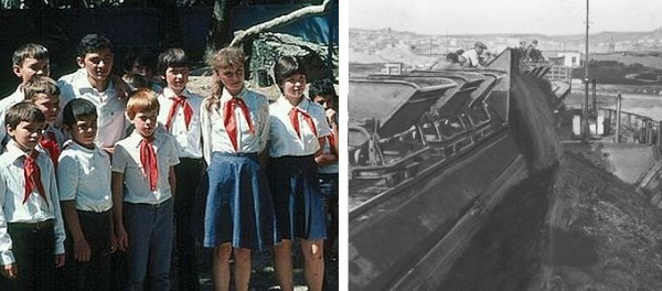 Pionierzy sowieccy - źli, pionierzy gdyńscy - dobrzy.