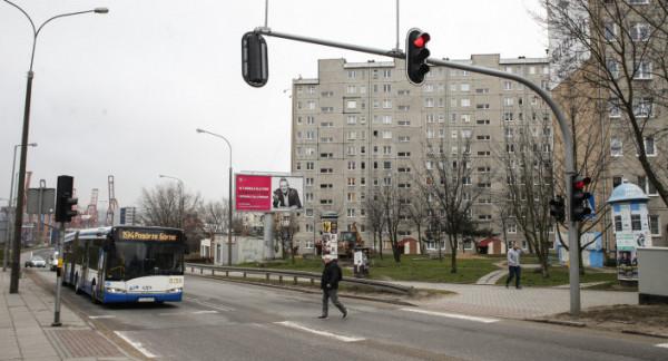 Buspas od ul. Unruga w kierunku ul. Płk Dąbka ma przyspieszyć jazdę pojazdów komunikacji miejskiej na tym odcinku.