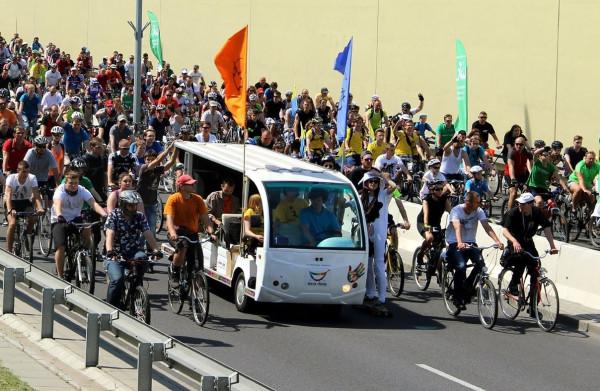 Metropolitalny Wielki Przejazd Rowerowy to nie tylko świetna zabawa, ale też okazja do poznania ludzi i wsparcia obywatelskich inicjatyw miejskiej polityki prorowerowej