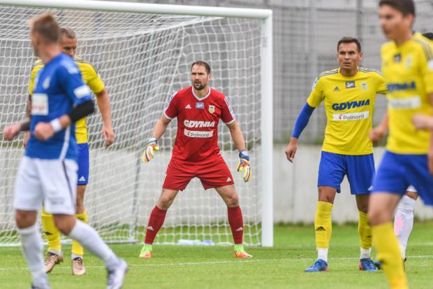 Pavels Steunbors jest pierwszym bramkarzem Arki w sezonie 2017/2018. Był jednym z bohaterów lipcowego meczu o Superpuchar Polski z Legią Warszawa.