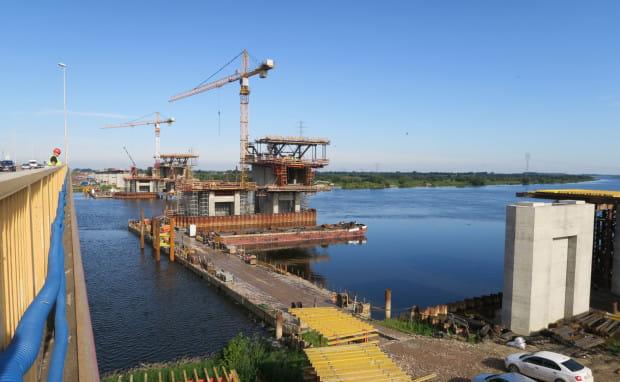 Budowa mostu na Wiśle to jedno z najdroższych i najbardziej skomplikowanych przedsięwzięć na budowie ekspresówki z Trójmiasta do Elbląga.