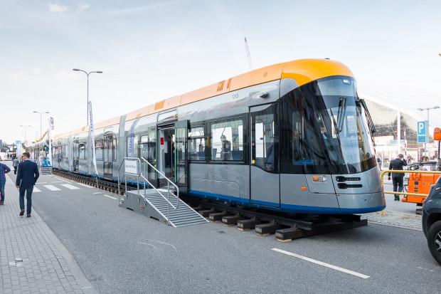 Tramwaj produkcji konsorcjum Stadler-Solaris przeznaczony dla Lipska.