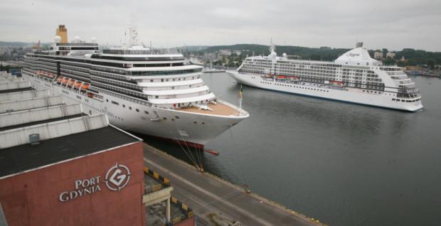 Wycieczkowce cumujące przy zamkniętym nabrzeżu portu trudno było oglądać. W 2018 roku będzie to znacznie łatwiejsze.