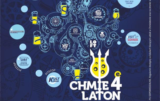 Plakat reklamujący tegoroczną edycję Chmielatonu.