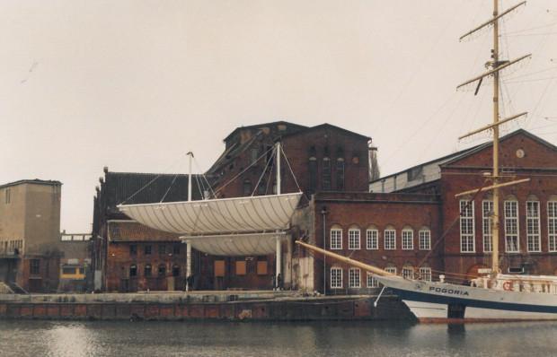 Amfiteatr Filharmonii Bałtyckiej po zakończeniu budowy.