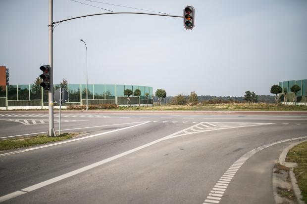 Planowane skrzyżowanie ul. Przytulnej z ul. Kartuską. Od prawie siedmiu lat - czyli od zakończenia budowy Trasy W-Z - czeka na wpięcie właśnie ul. Przytulnej.