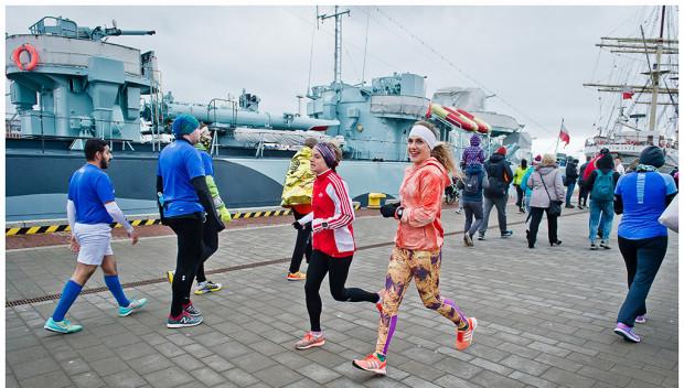 Jednym z atutów Gdyni przy organizacji półmaratonu jest umiejscowienie imprezy.