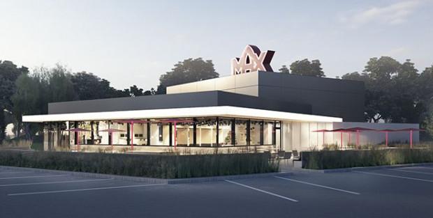 Tak ma wyglądać bar nowej sieci Max Premium Burgers, który zostanie otwarty w Gdańsku.