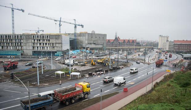Przystanki tramwajowe przy SKM Gdańsk Śródmieście były wyłączone z eksploatacji od stycznia br.
