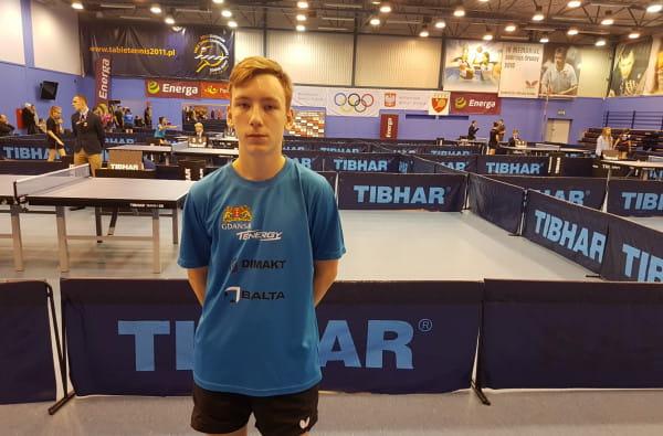 Michał Małachowski, jak niegdyś Andrzej Grubba, przeniósł się do Gdańska, by stać się mistrzem tenisa stołowego. Na razie jest na początku tej żmudnej drogi.