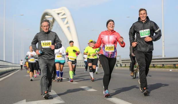 Uczestnicy Półmaratonu Gdańsk pokonają w niedzielę 21 km.