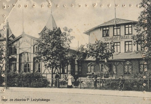 Thierfeld Hotel znany był też jako Vereinshaus Oliva.