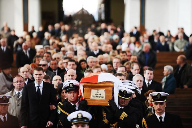 W uroczystościach pogrzebowych Macieja Płażyńskiego uczestniczyły tysiące mieszkańców Trójmiasta.