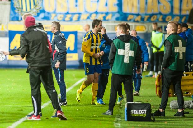 Ten rok piłkarski dla Krzysztofa Sobieraja (nr 3) już się zakończył.