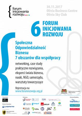 W tym roku uczestnicy Forum Inicjowania Rozwoju wezmą udział w interesujących wystąpieniach (godz. 8-15) oraz warsztatach towarzyszących (godz. 17:30-20).