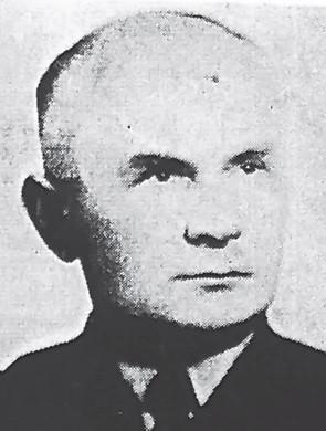 Komandor ppor. Jerzy Kłossowski.