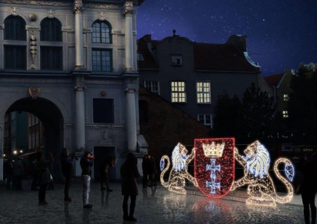 W tym roku w Gdańsku ustawione zostaną też świetlne figury.