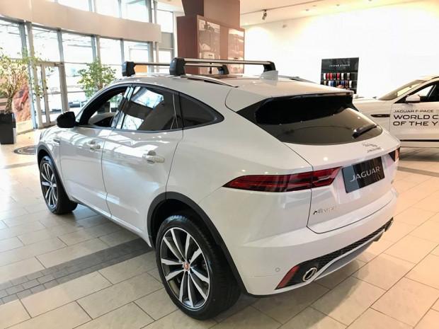 Jaguar E-Pace pojawił się w salonie British Automotive Gdańsk tylko na jeden dzień.