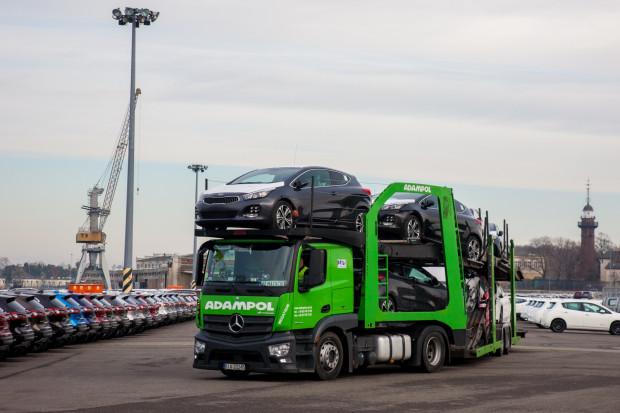 Tylko w tym roku w Porcie Gdańsk przeładowano ponad 60 tys. tzw. aut handlowych.