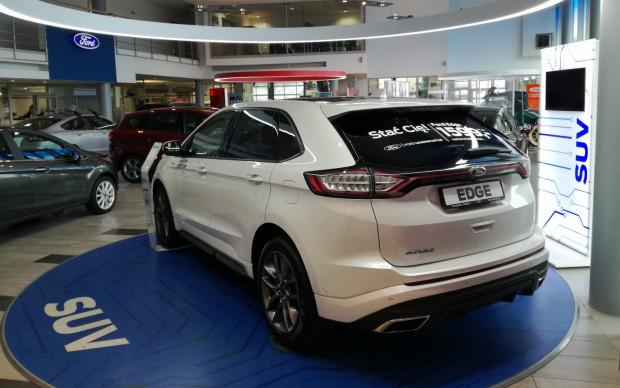 Dealer Euro-Car największy rabat nałożył na model Edge.