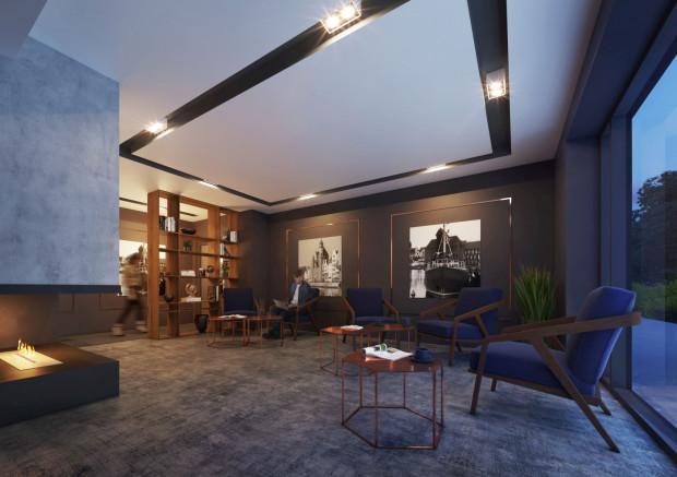 Tak prezentować się będzie ekskluzywne wnętrze apartamentowca.