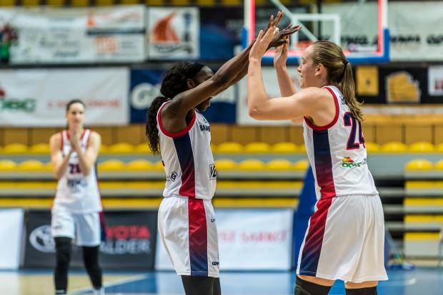 Koszykarki Basketu 90 Gdynia już teraz mogą cieszyć się z miejsca w Final Six Pucharu Polski.
