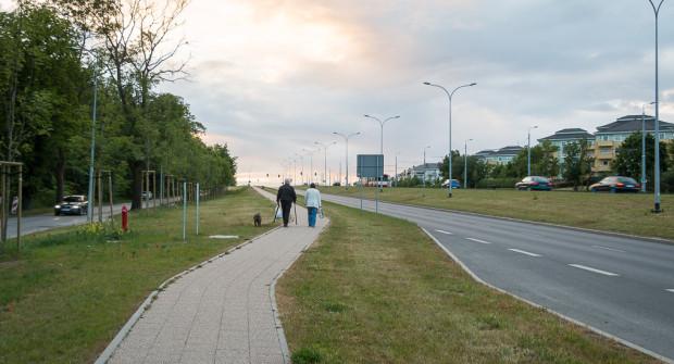 Al. Havla to przykład przestrzeni publicznej projektowanej wyłącznie pod kątem potrzeb kierowców.