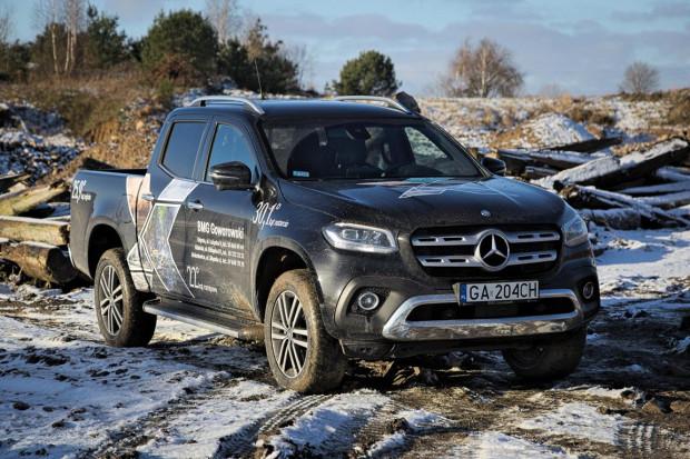 Cennik nowego Mercedesa-Benz Klasy X otwiera kwota 175 tys. zł brutto (142 tys. zł netto).
