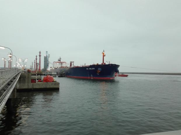 Transport pierwszej dostawy ropy naftowej z USA dla Grupy Lotos do gdańskiego Naftoportu dotarł w listopadzie 2017 roku.
