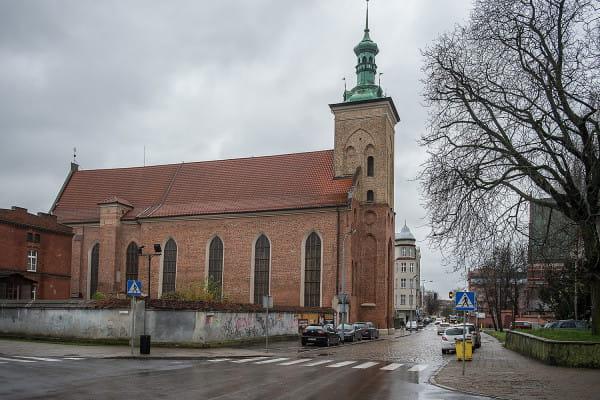 Kościół św. Jakuba w Gdańsku przy ul. Łagiewniki.