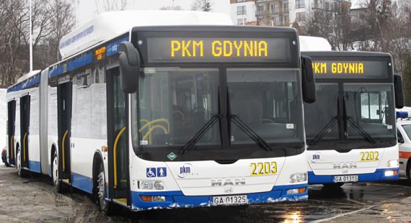 Jedyną ofertę na autobusy dla Gdyni złożyła firma MAN. Jest o 16 mln wyższa niż zakładany przez miasto wydatek.