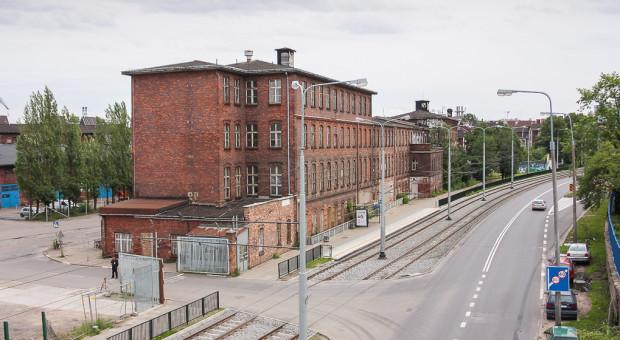 Budynek wzorcowni stał w miejscu, gdzie dzisiaj planuje się parking piętrowy przyległy do biurowca.