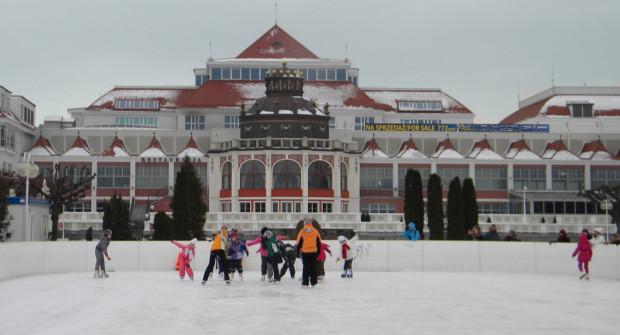 Lodowisko w Sopocie w zeszłym sezonie odwiedziło ponad 10 tys. osób.