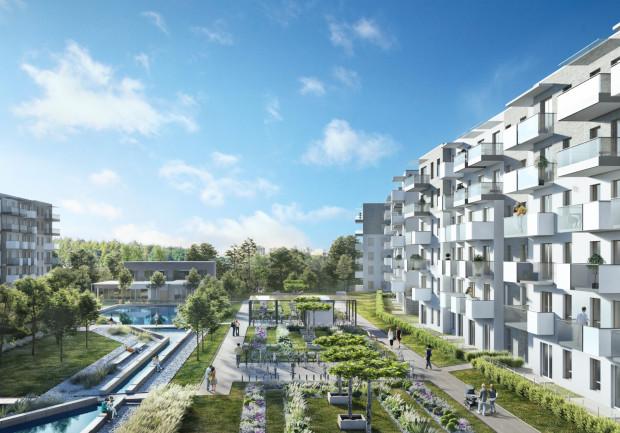 Nowa Letnica - osiedle przy ul. Suchej i Starowiejskiej w Gdańsku otwiera dla zabudowy mieszkaniowej nowy obszar Gdańska.