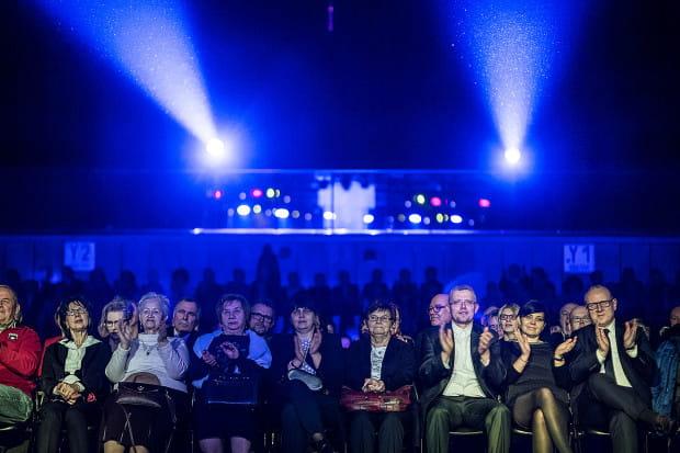 Na widowni Gdynia Areny zasiadło ok. tysiąca słuchaczy.