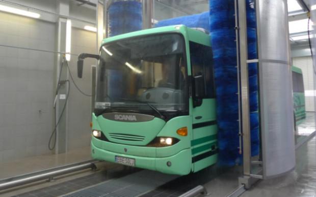 Myjnia dla autobusów i aut ciężarowych zostanie oddana do użytku pod koniec maja.
