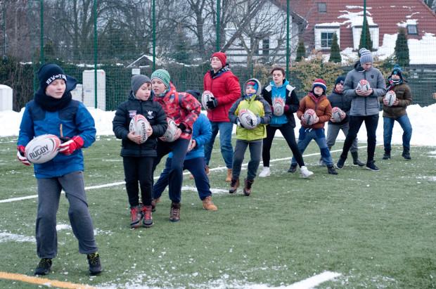 Szeroka oferta zajęć jest dopasowana do wszystkich dzieci, niekoniecznie związanych z rugby.
