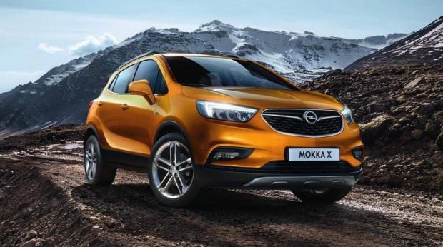 Piątą dziesiątkę otwiera Opel Mokka X.
