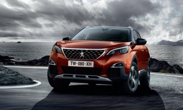 Ostatnią dziesiątkę otwiera Peugeot 3008.