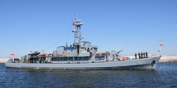 ORP Mewa - przyszły okręt muzeum.