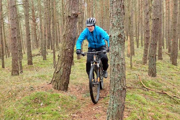 Lasy Wyspy Sobieszewskiej i intensywny wypad rowerowy w formie treningu MTB