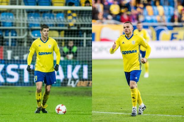 Michał Marcjanik (z lewej) już w listopadzie dostał propozycje przedłużenia kontraktu. Niebawem otrzyma ją także Michał Nalepa ( z prawej).