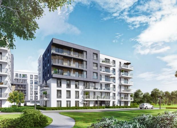 W pierwszym etapie Przystani Letnica powstaną trzy 6-kondygnacyjne budynki ze 141 mieszkaniami.