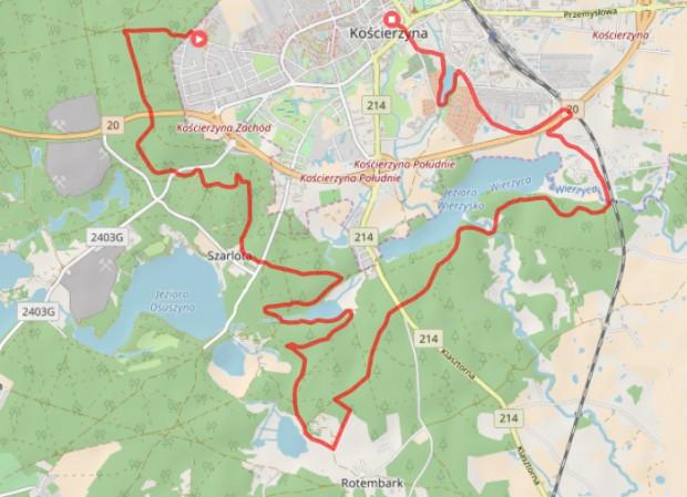 Projekt trasy