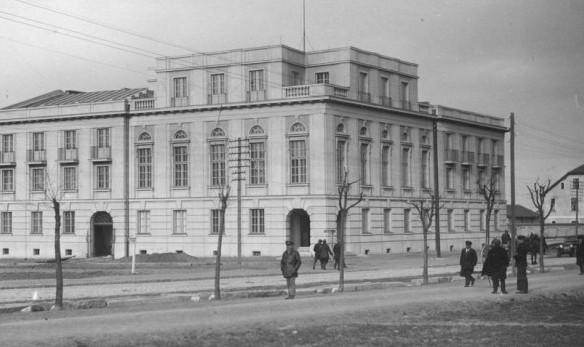 Zdjęcie z 1929 roku - tuż po ukończeniu budowy Banku Polskiego.