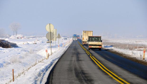 Budowa drogi ekspresowej S7.