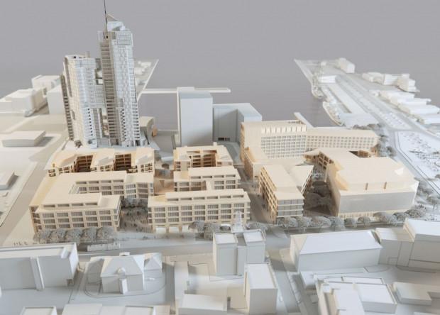 Drugi etap zabudowy Waterfrontu.