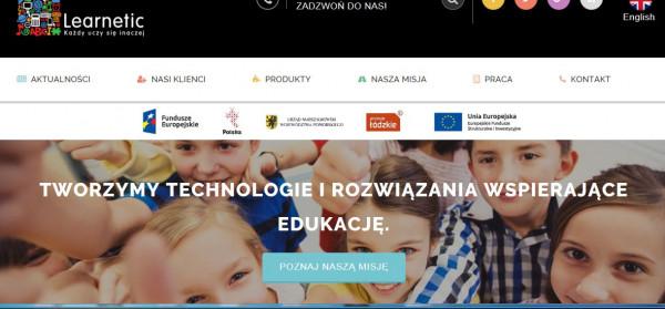 Learnetic SA jest wydawcą oprogramowania edukacyjnego i dostawcą technologii e-learning.